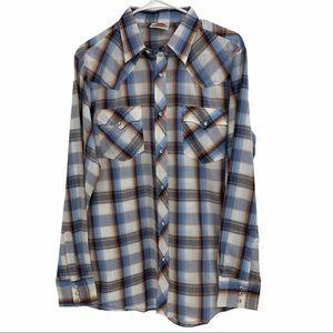 Vintage Western Wear Snap Shirt